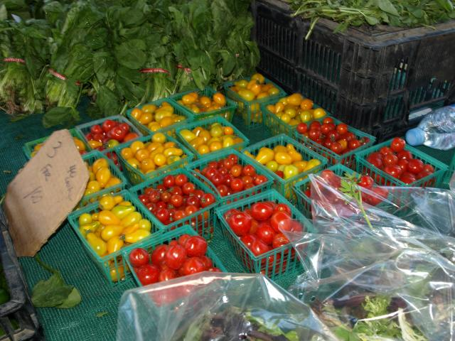 Tomatoes at Farmer\'s Market