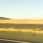 Everything looks very dry as we drive.
