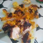 Yum Chicken Tikka!