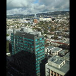L.A. from the 19th floor at my office