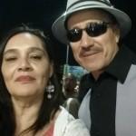 Con el Big Puppet - Danny de La Paz