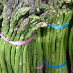 The asparagus seem to dance